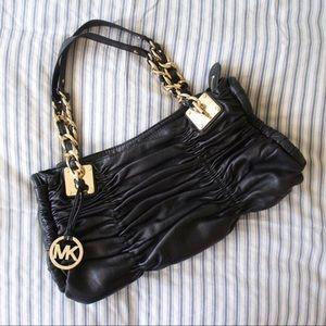 MICHAEL Michael Kors Ruched Leather Handbag